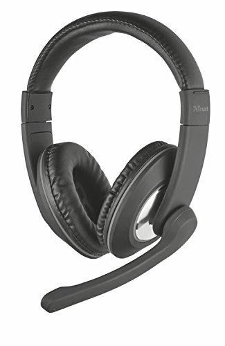 🥇 Trust Reno – Auriculares con micrófono para PC