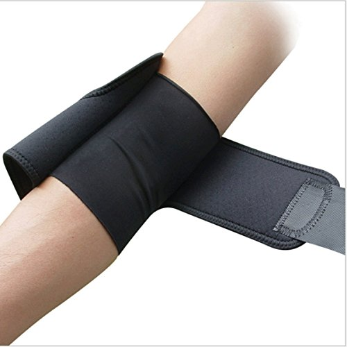 FJZ Compression Recovery Elbow Sleeve &Neoprene Elbow Support. Protect Elbow During Workouts Weightlifting and Cross Training, For Relief of Golfers And Tennis Elbow, Arthritis, Tendonitis
