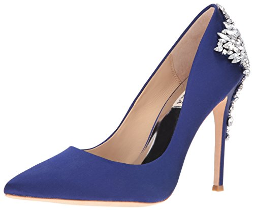 Badgley Mischka Womens Gorgeous Dress Pump Indigo