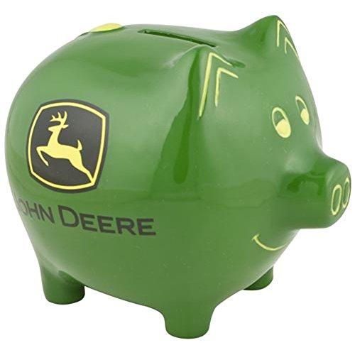 M. CORNELL IMPORTERS John Deere Piggy Bank