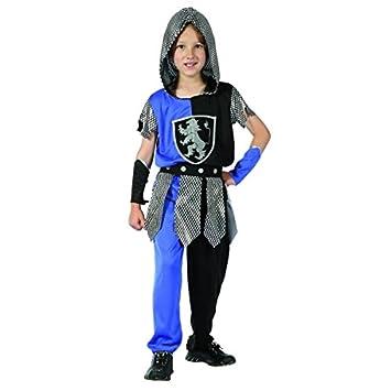 Disfraz de caballero azul niño - 7 - 9 años: Amazon.es ...