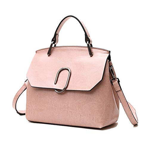 Elegdy Crossbody Bags Shoulder Bag For Women Stylish Ladies Messenger Bags Cloth Tote Coach Handbags (Color : Pink, Size : Onesize)