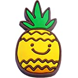 Pineapple Rubber Charm for Wristbands and Shoes
