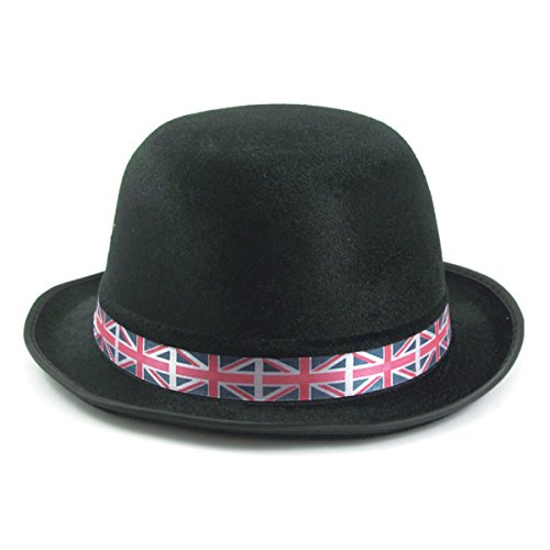 Amscan 994944 Union Jack Bowler Hats (3 Pack) -