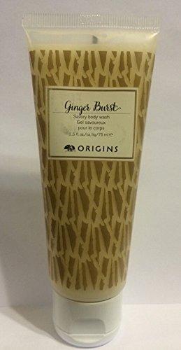 Origins Ginger Burst Savory Body Wash Travel 2.5 Oz / 75 Ml New Fresh