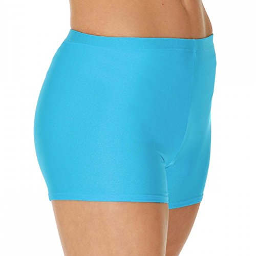 Valley pantaloncini Kingfisher Hot ginnastica Roch Lycra Dance da nylon aOUw4