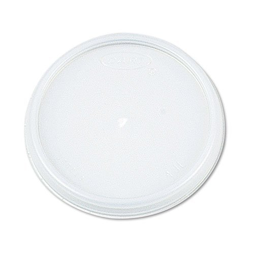 Dart Container 8JL Plastic Lids, for 8 oz. Hot/Cold Foam Cups, Vented, 1000 Lids/Carton by (8jl Plastic Lids)