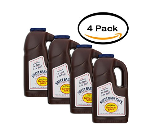 PACK OF 4 - Sweet Baby Ray's Barbecue Sauce, 1.0 GAL
