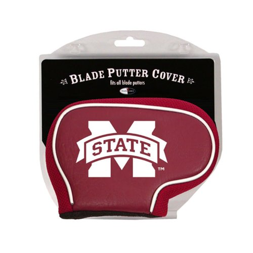 Bulldogs Putter Cover (NCAA Mississippi State Bulldogs Golf Blade Putter Cover)