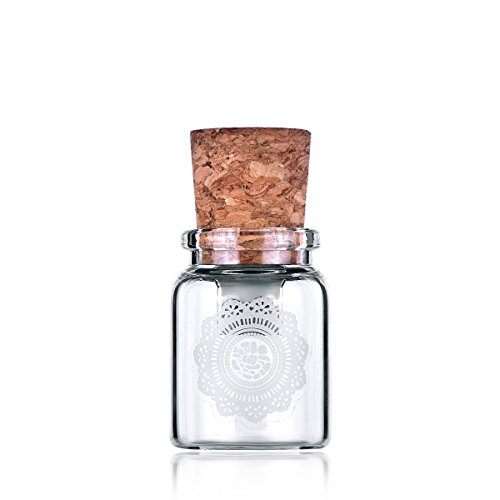 Zoegift ZOE-GB-040 16GB Glass Jar USB Flash Drive ()