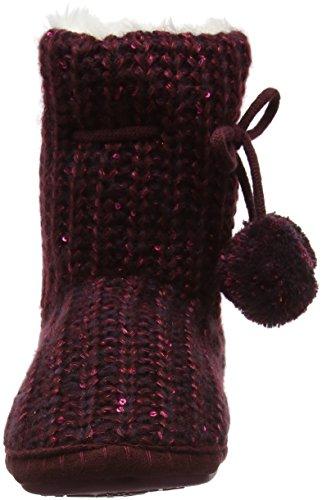 burgundy Estar Para Casa Rojo Dogz Mujer Por De Lazy Zapatillas Sophie qwOvvgp