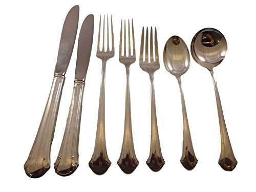 Chippendale by Towle Sterling Silver Flatware Service For 8 Dinner Set 65 Pieces (Chippendale Dinner Fork)