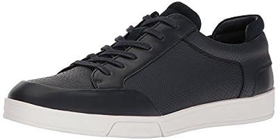 Calvin Klein Men's Balin Emossed Lea Calf Smooth Fashion Sneaker