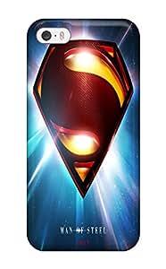 superman man of steel Superman Superheroes fashionable iPhone 5/5s cases 1985704K660044347