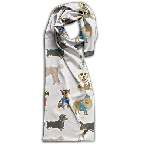 Dogs In Sunglasses Its A Dogs Life Winter Light.Lightweight Scarf Print Soft Warm Towel Smelless.New Style.Fashion.Fever Stylish Scarves Best - S Best 2018 Men Sunglasses