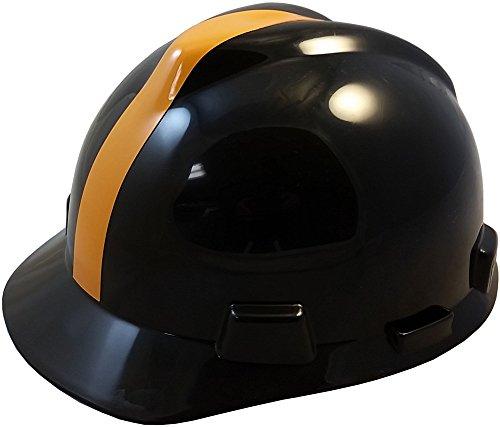 MSA NFL Ratchet Suspension HardHats - Pittsburgh Steelers Hard Hats by MSA (Image #5)