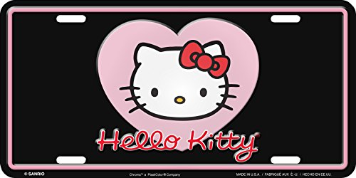 hello kitty car tag - 2