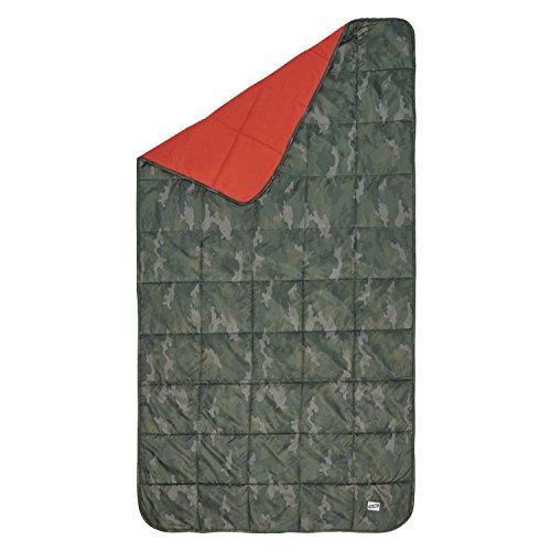 Kelty Bestie Blanket, Camo Green/Lava