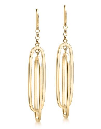Carissima Gold - Boucles d'Oreille - 1.56.7609 - Femme - Or Jaune 375/1000 (9 Cts) 1.98 Gr