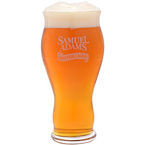 Spiegelau Classics Sam Adams Boston Lager Beer Glasses – (Clear, Set of (Samuel Adams Boston Lager)