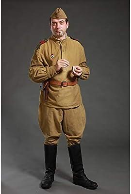 Uniforme Jacket + Pants Olive gimnasterka Traje Militar soviético ...