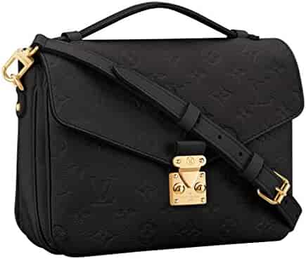 2f130c142 Louis Vuitton Monogram Empreinte Leather Pochette Metis Handbag Article:  M41487 Made in France