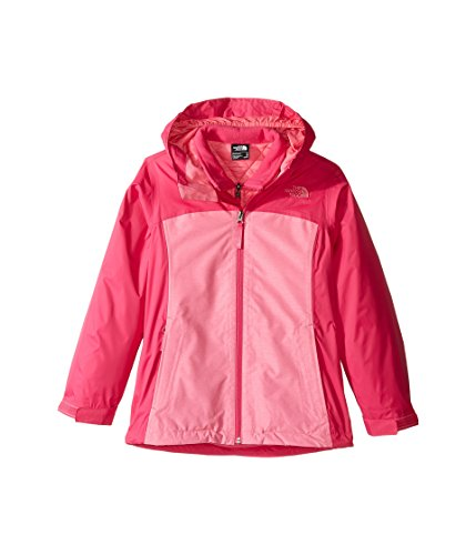 The North Face Kids Girl's Thermoball Triclimate Jacket (Little Kids/Big Kids) Cha Cha Pink Heather (Prior Season) - Chaos Trap Force