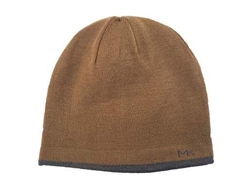 MICHAEL Michael Kors Men's Repeat Logo Beanie (Camel(33491C)/Grey, One ()