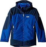 Jack Wolfskin Kids Baby Boy's Akka 3-in-1 Jacket (Infant/Toddler/Little Kids/Big Kids) Sapphire 9-10 Years