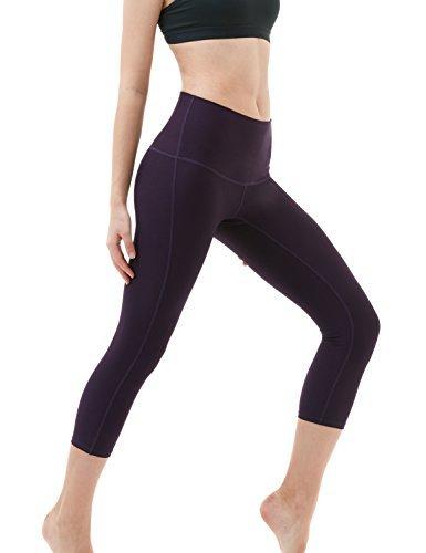 TSLA TM-FYC32-DVT_Medium Yoga Pants High-Waist Tummy Control w Hidden Pocket FYC32 - Old Navy Athletic Pants