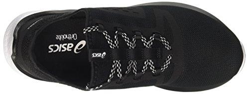 Donna Black Fuzetora Running Scarpe Black Asics 9090 White Nero HvtfCqqw