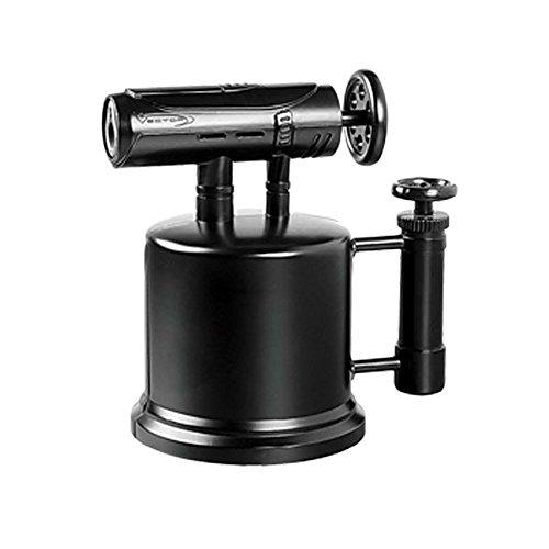 VECTOR KGM Quad Pump Table Top Quad Torch Lighter (Black Matte)