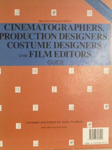 'CINEMATOGRAPHERS, PRODUCTION DESIGNERS, COSTUME DESIGNERS AND FILM EDITORS GUIDE']()