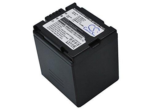 2160mAh Battery For Panasonic NV-GS280, VDR-D258GK, VDR-D300, ()