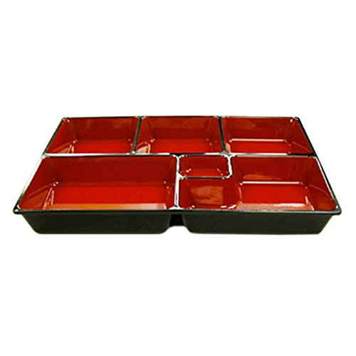 JapanBargain Bento Box Inner Divider 6 Compartments, 11.5