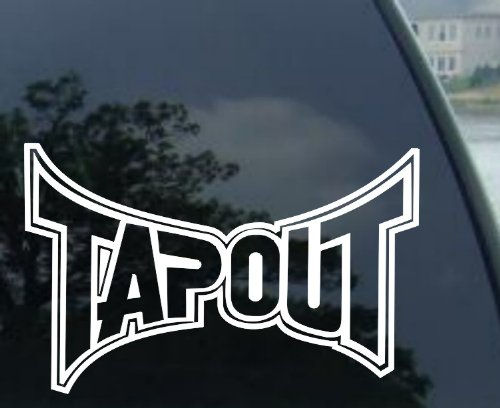 Tapout Sticker (Decal) - 9""