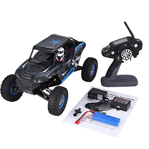 Liobaba Wltoys 10428-B 1/10 Scale 2.4Ghz 4WD 30km/h Climbing High Speed RC Crawler Off-Road Rock Electric RC Remote Control Car RTR