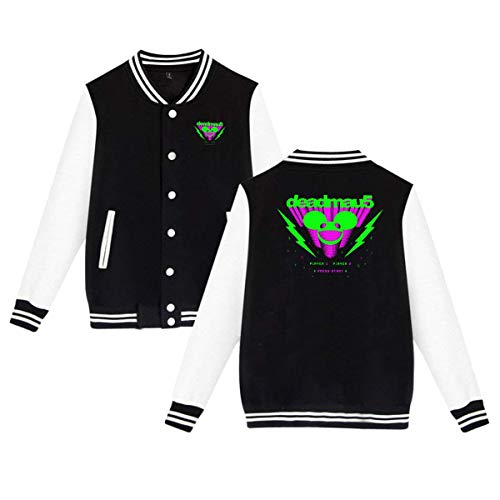 FRBER Deadmau5 Men Varsity Jacket Outerwear M Black -