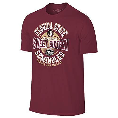 - Florida State Seminoles 2019 Sweet 16 Basketball March Madness T-Shirt - X-Large - Maroon