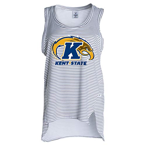Official NCAA Kent State Golden Flashes - Women's Stretchy Striped Tank