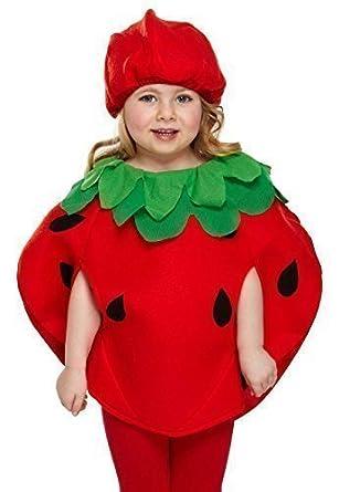 deguisement fille fraise