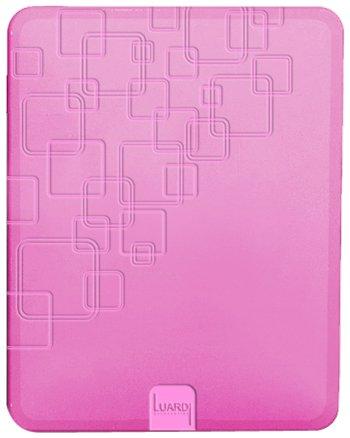 Luardi Pattern TPU Case for iPad 2 and New iPad (Pink)