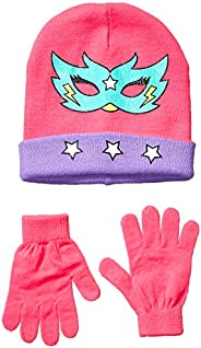 Amazon Brand - Spotted Zebra Girls Hat Scarf Mittens Gloves Cold Weather Accessories Sets
