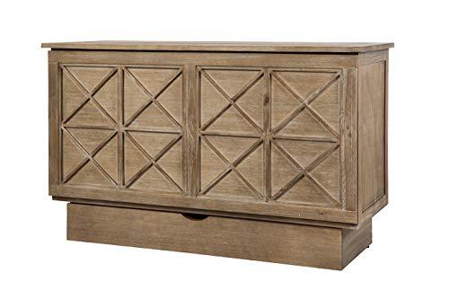 Arason Essex Creden-ZzZ Cabinet Bed | Natural