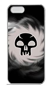 iPhone 5 5S Case Cool Skull 21 Funny Lovely Best Cool Customize iPhone 5S Cover Transparent