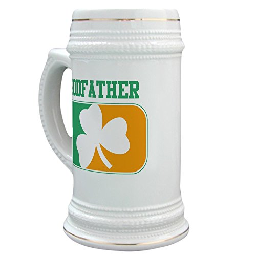 CafePress GODFATHER Irish Stein Ceramic