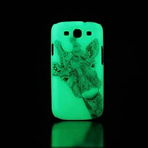 LCJ Samsung S3 I9300 compatible Graphic/Special Design/Glow in the Dark Plastic Back Cover