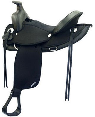 (Abetta Arabian Western Trail Saddle 16 In Black)