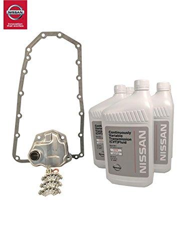 Genuine Nissan OEM CVT Maintenance Kit Nissan Rogue 2008-2012 (2WD) ()