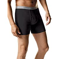 2-Pack Hanes Mens ComfortSoft Boxer Briefs (Assorted)